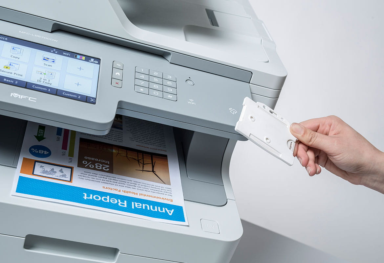 Secure Print+ | Secure Printing | Brother
