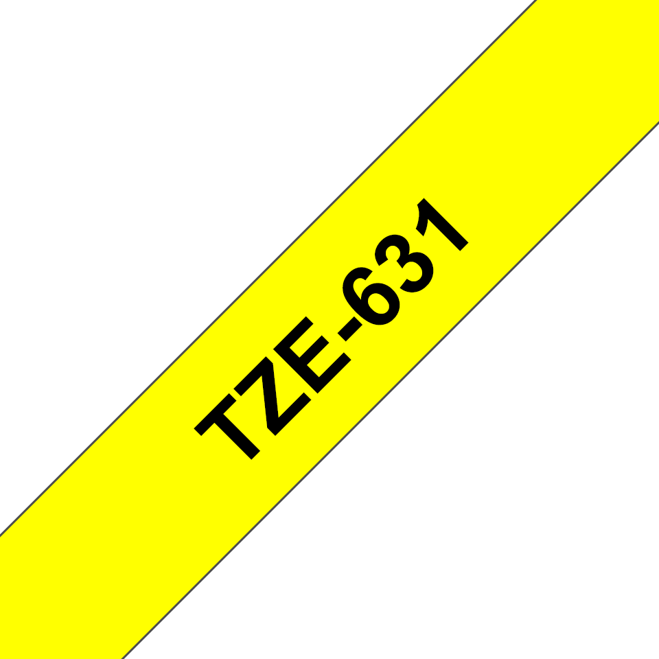 Black on White//Black on Yellow//Black on Red Laminated x 8 m 12 mm L W Labelling Tape Cassettes Value Pack TZe-231//TZe-631//TZe-431 Brother Genuine Supplies Brother TZe-31M3