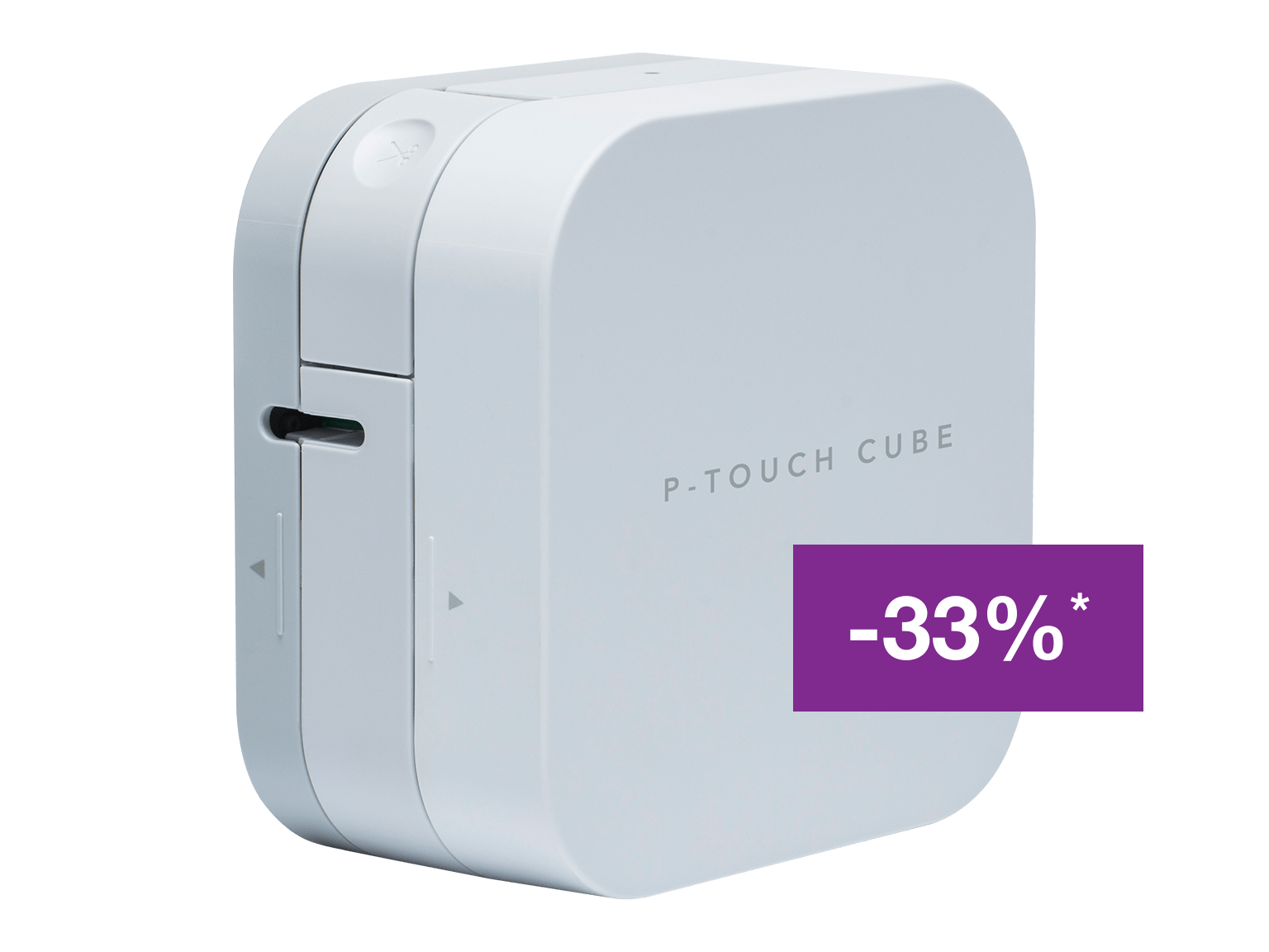 Brother P-touch CUBE P300BT label printer with discount offer
