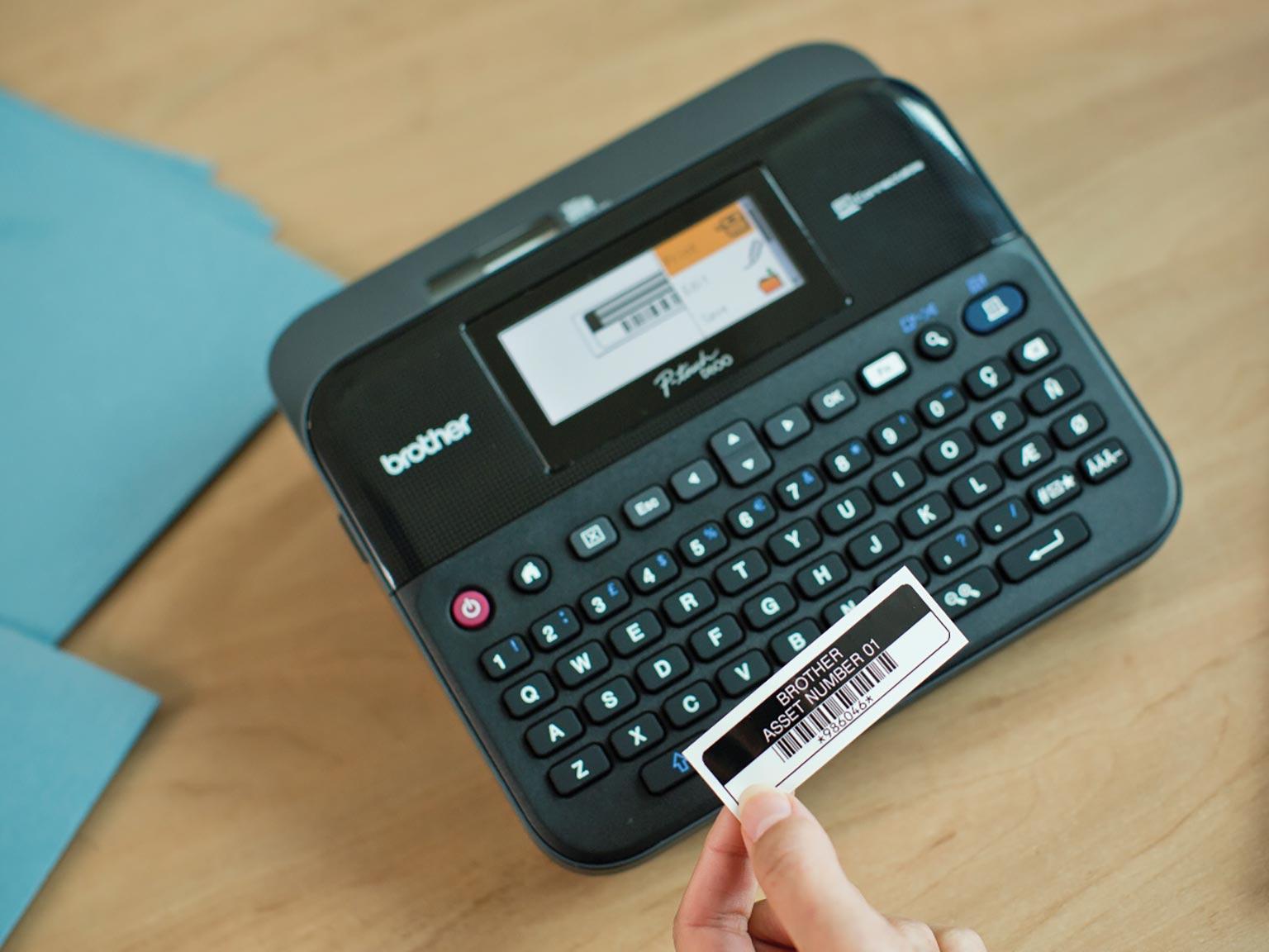 PT-D600VP label printer