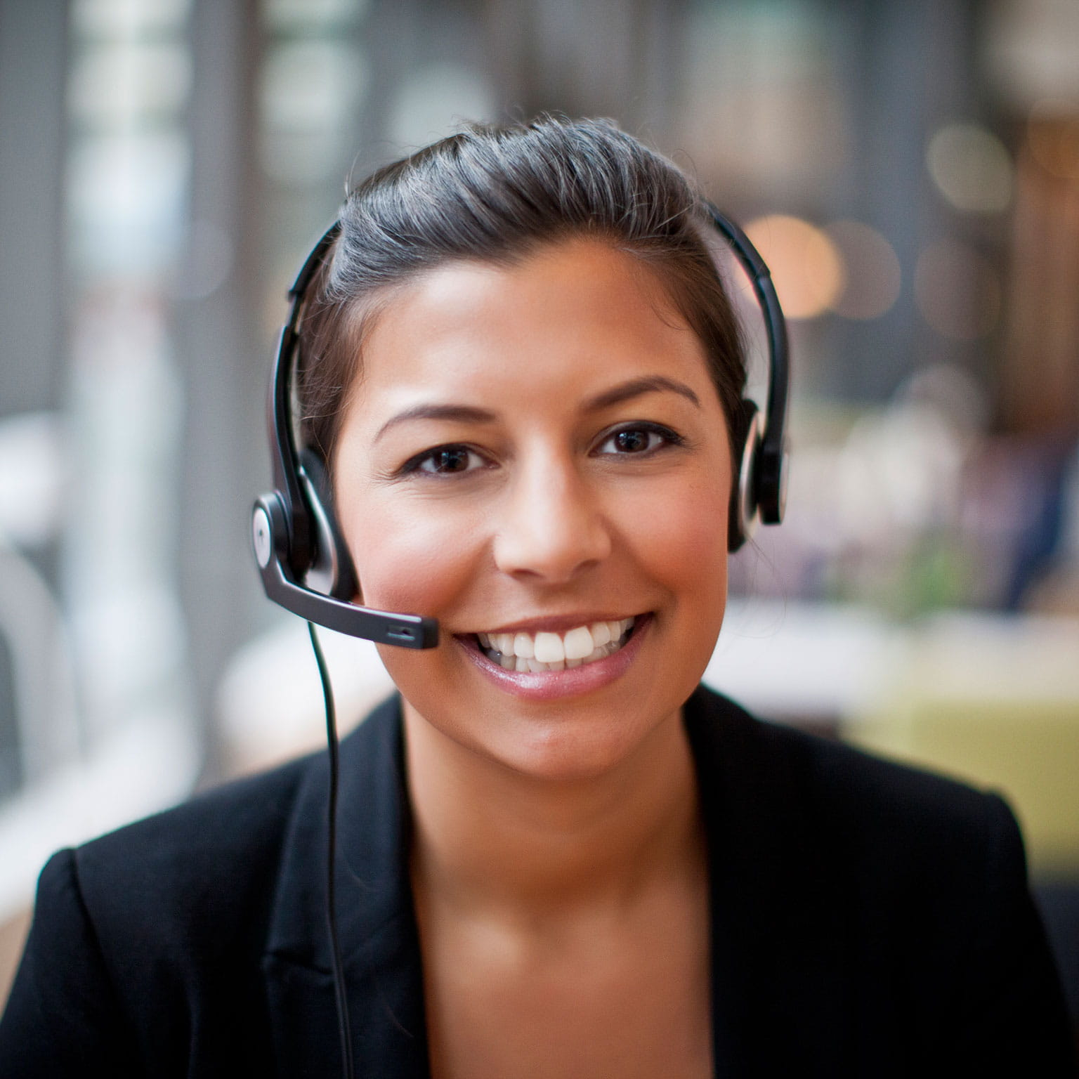 Woman-on-headset