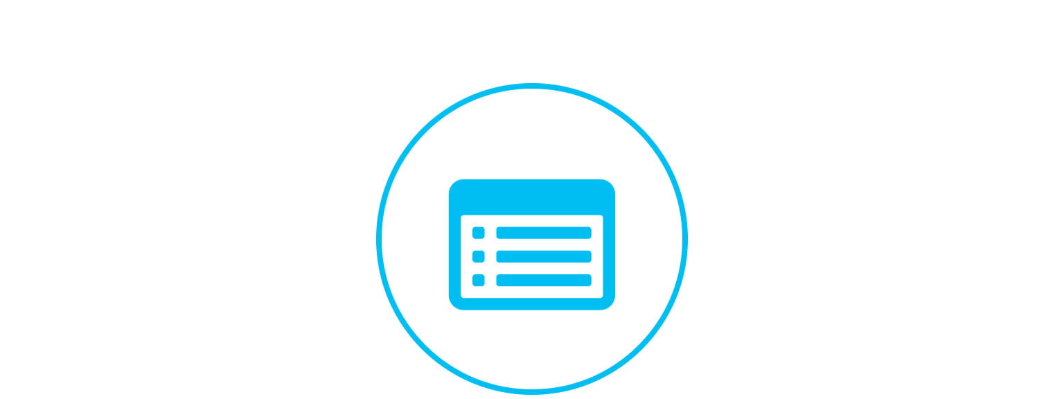 register your details icon support page