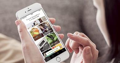 P-touch Design&Print-sovelluksen käyttöä