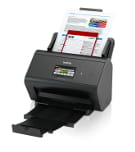 ADS2800W scanner with documents