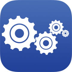 Multiple gears icon