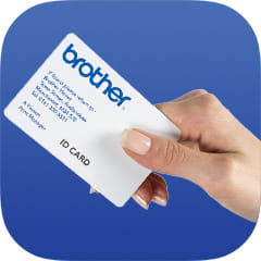 Brother business card icon