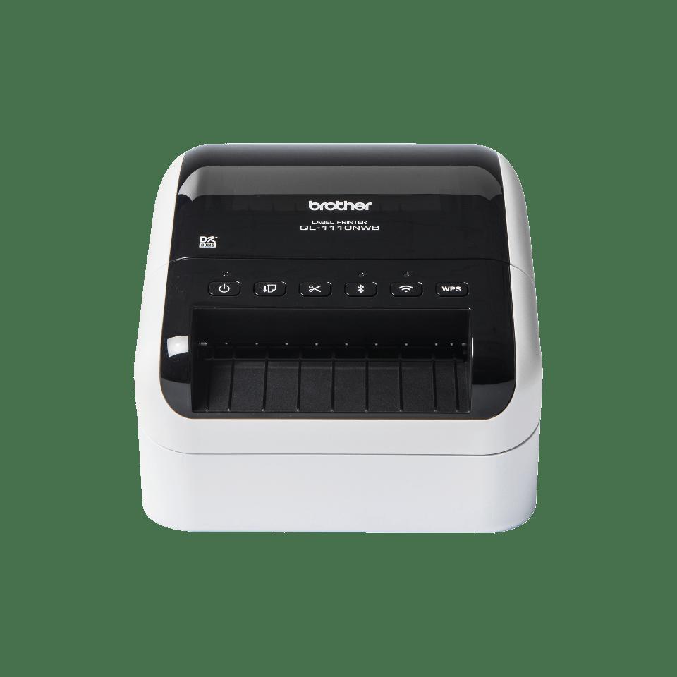 QL-1110NWB wide format shipping barcode label printer