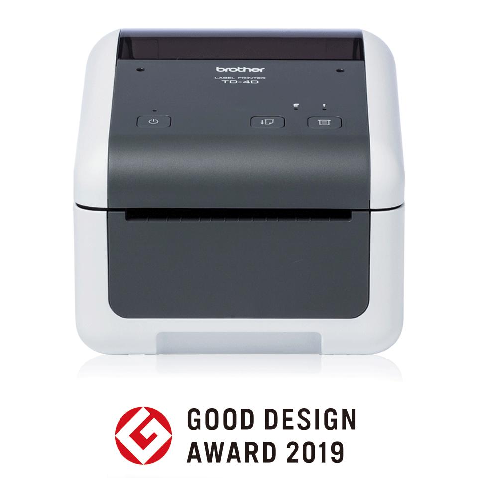 Brother TD-4410D High-quality Desktop Label Printer