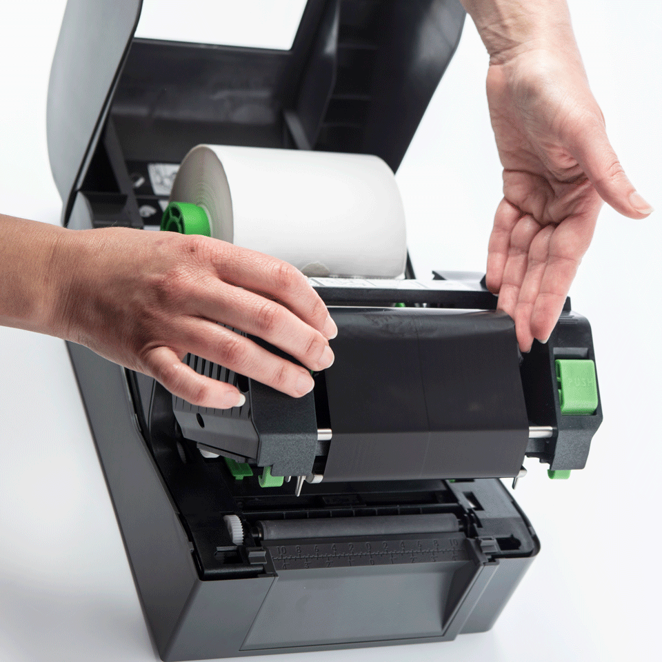Brother TD-4520TN Thermal Transfer Desktop Label Printer 5