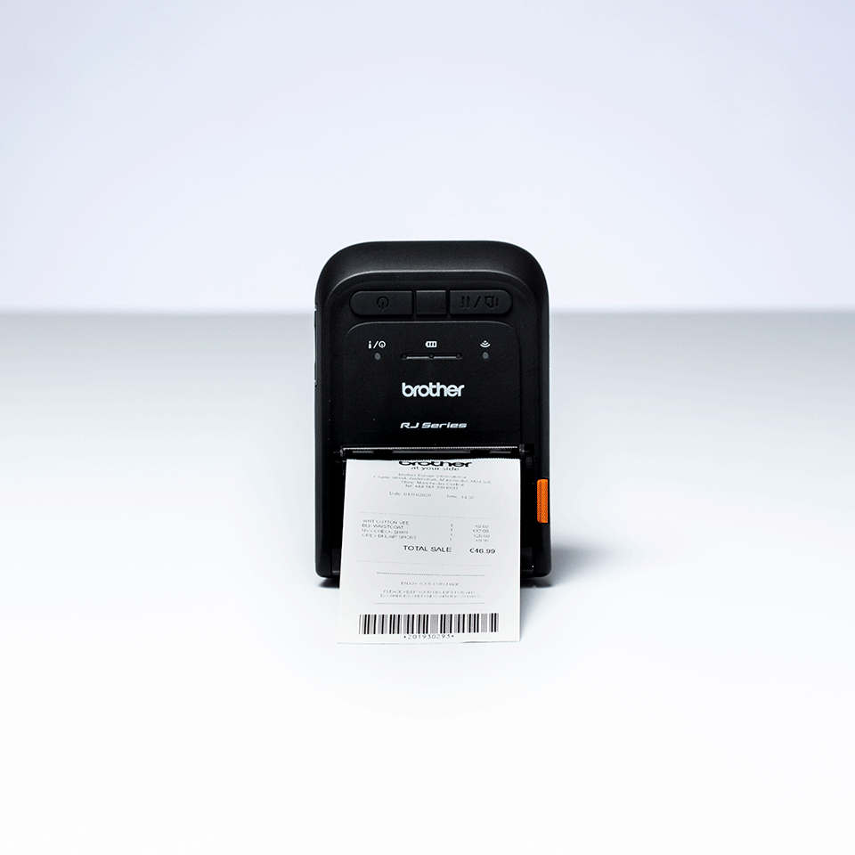 Brother RJ-2055WB Mobile Receipt Printer 5