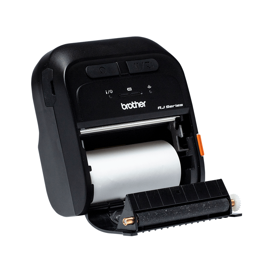 Brother RJ-3055WB Mobile Label and Receipt Printer 4