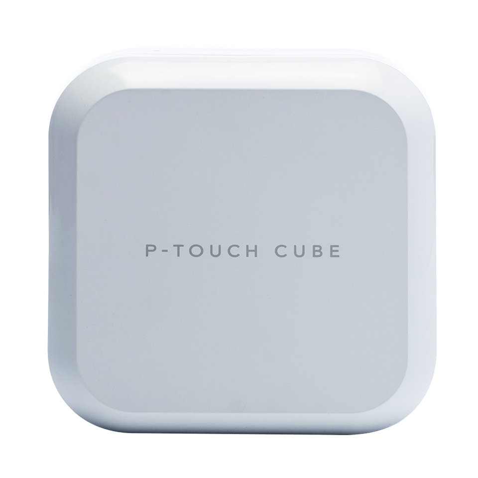 P-touch CUBE Plus PT-P710BTH Rechargeable Label Printer with Bluetooth