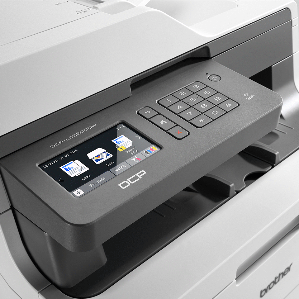 DCP-L3550CDW - Colour Wireless LED 3-in-1 Printer  4