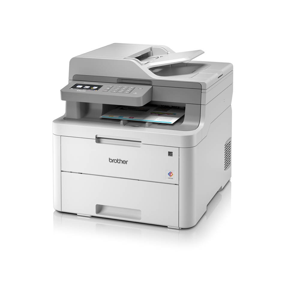 DCP-L3550CDW - Colour Wireless LED 3-in-1 Printer  2