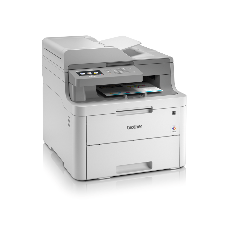 DCP-L3550CDW - Colour Wireless LED 3-in-1 Printer  3