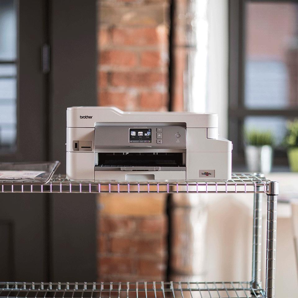 DCP-J1100DW - Wireless 3-in-1 Colour Inkjet Printer - All In Box 4