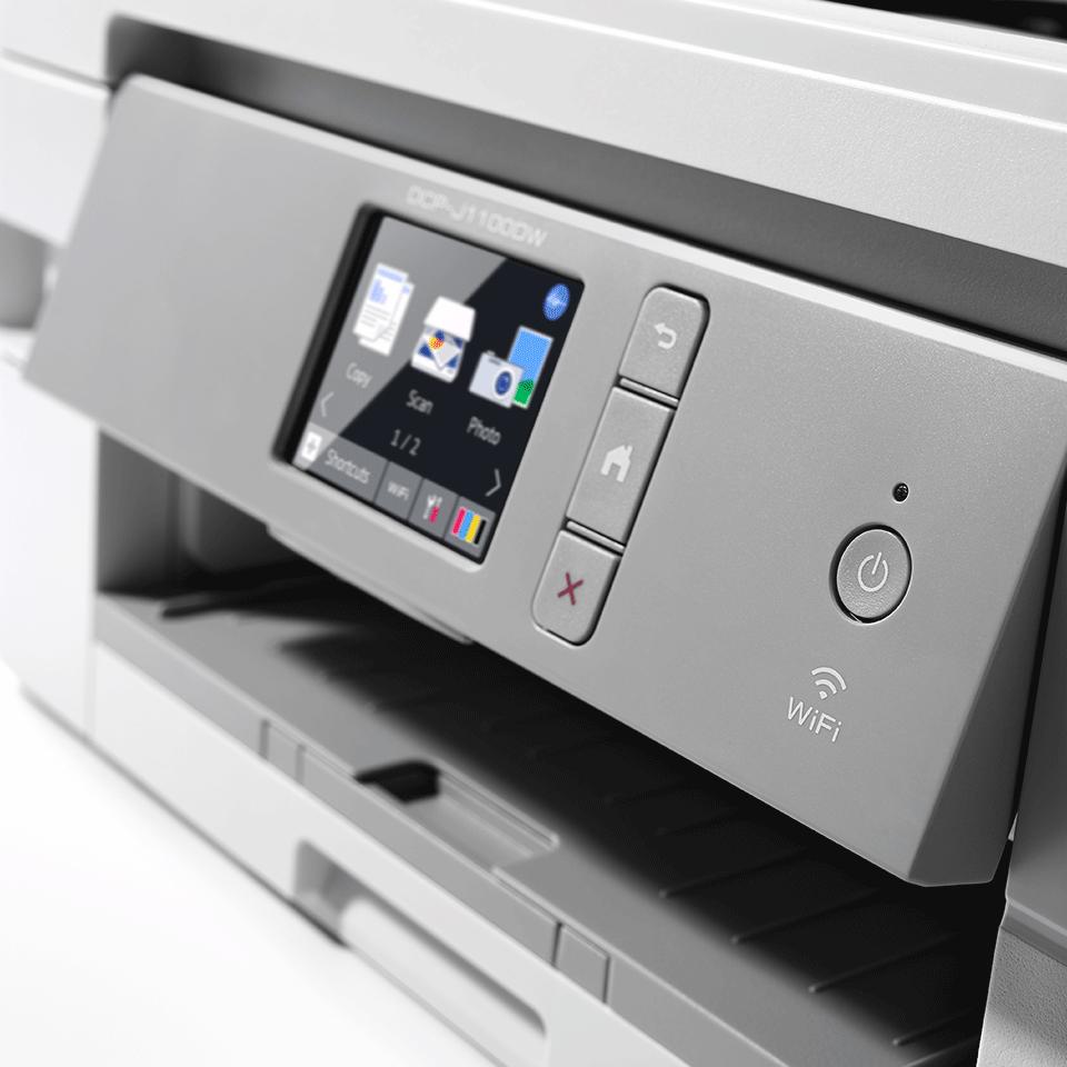 DCP-J1100DW - Wireless 3-in-1 Colour Inkjet Printer - All In Box 5