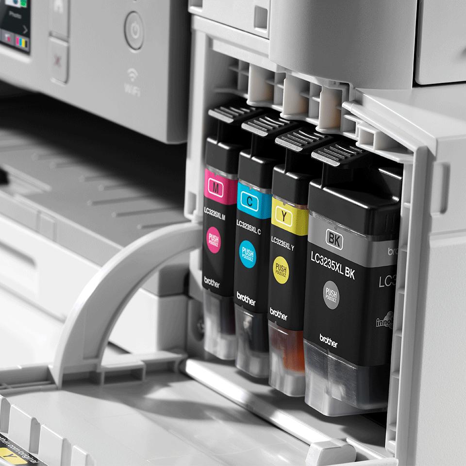 Wireless 3-in-1 Colour Inkjet Printer DCP-J1100DW All In Box Bundle 6