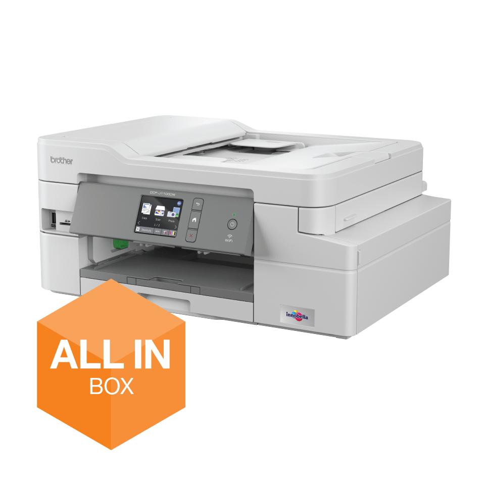 DCP-J1100DW - Wireless 3-in-1 Colour Inkjet Printer - All In Box