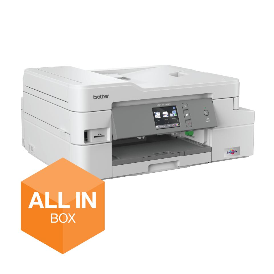 DCP-J1100DW - Wireless 3-in-1 Colour Inkjet Printer - All In Box 2