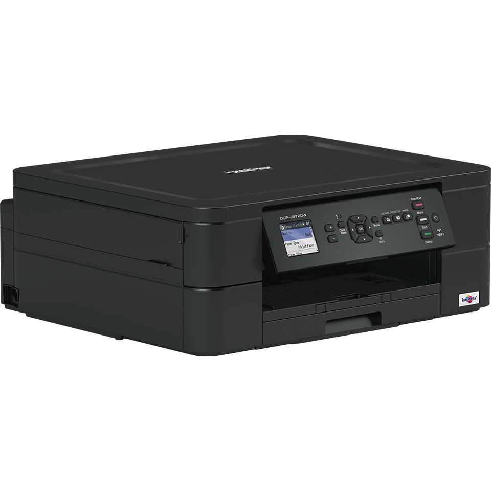Wireless 3-in-1 Colour Inkjet Printer DCP-J572DW 2