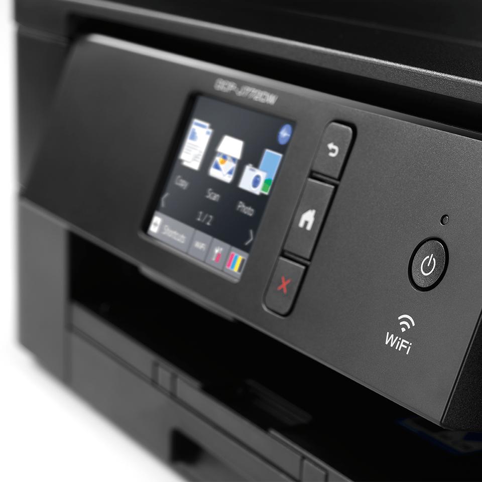 DCP-J772DW - Wireless 3-in-1 colour inkjet printer 5