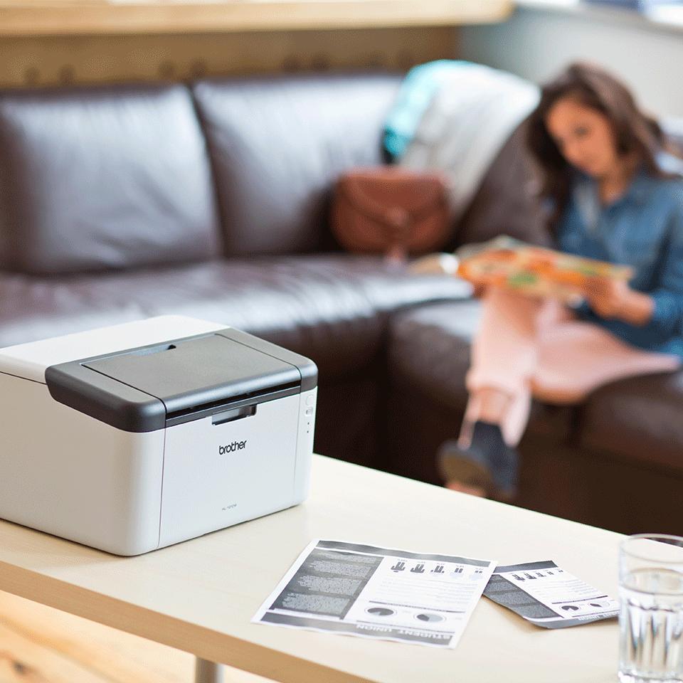 Wireless Mono Laser Printer - HL-1210W All in Box Bundle 3