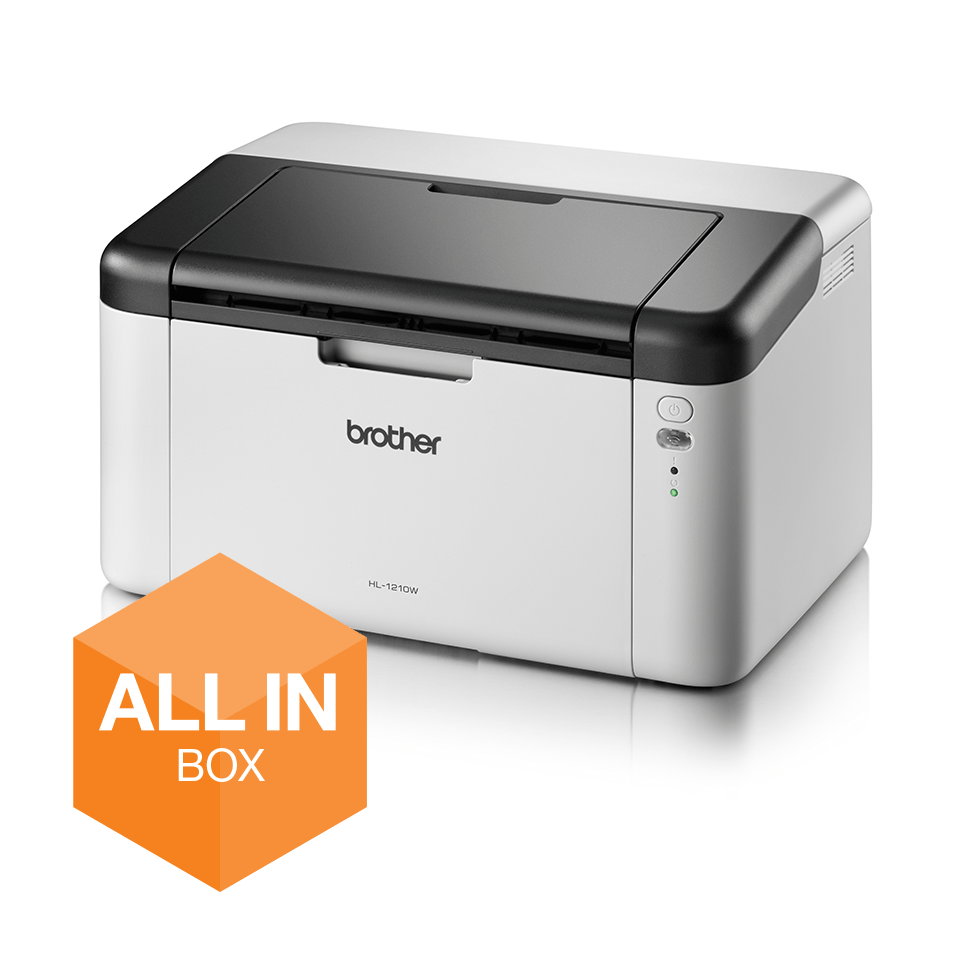 Wireless Mono Laser Printer - HL-1210W All in Box Bundle