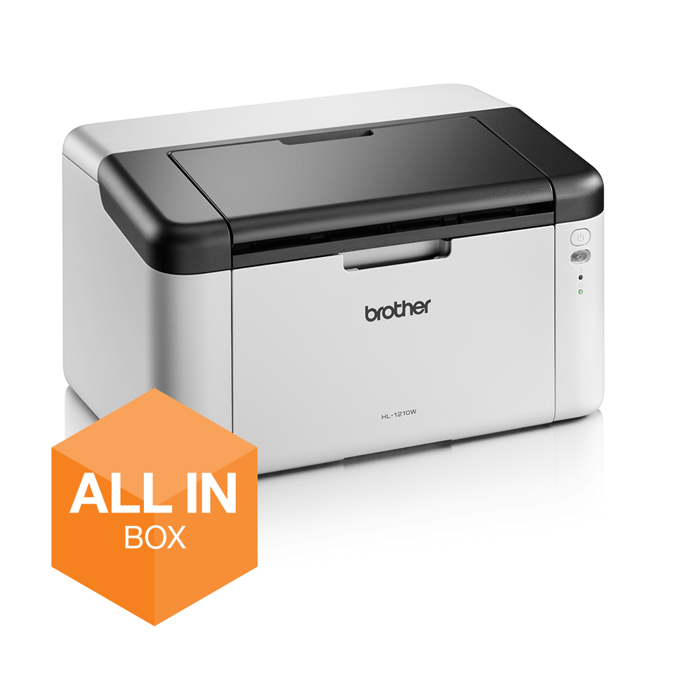 Wireless Mono Laser Printer - HL-1210W All in Box Bundle 2