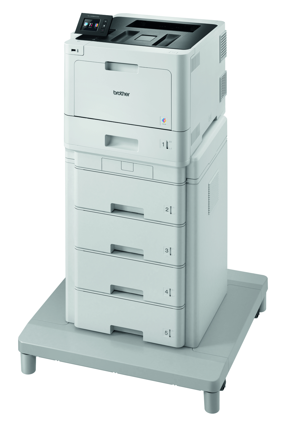 HL-L8360CDWMT - Professional Colour Laser Printer + Tower Tray + Tower Tray Connector 2