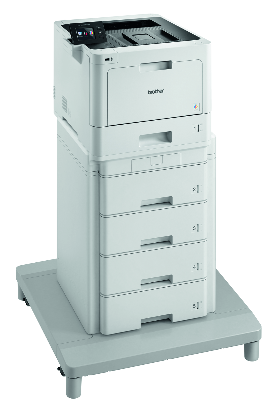 Brother HL-L8360CDWMT Professional Colour, Duplex, Wireless Laser Printer + Tower Tray + Tower Tray Connector 3