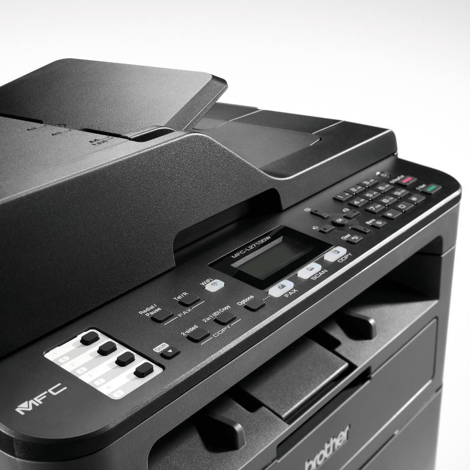 MFC-L2710DW Compact Wireless 4-in-1 Mono Laser Printer  5
