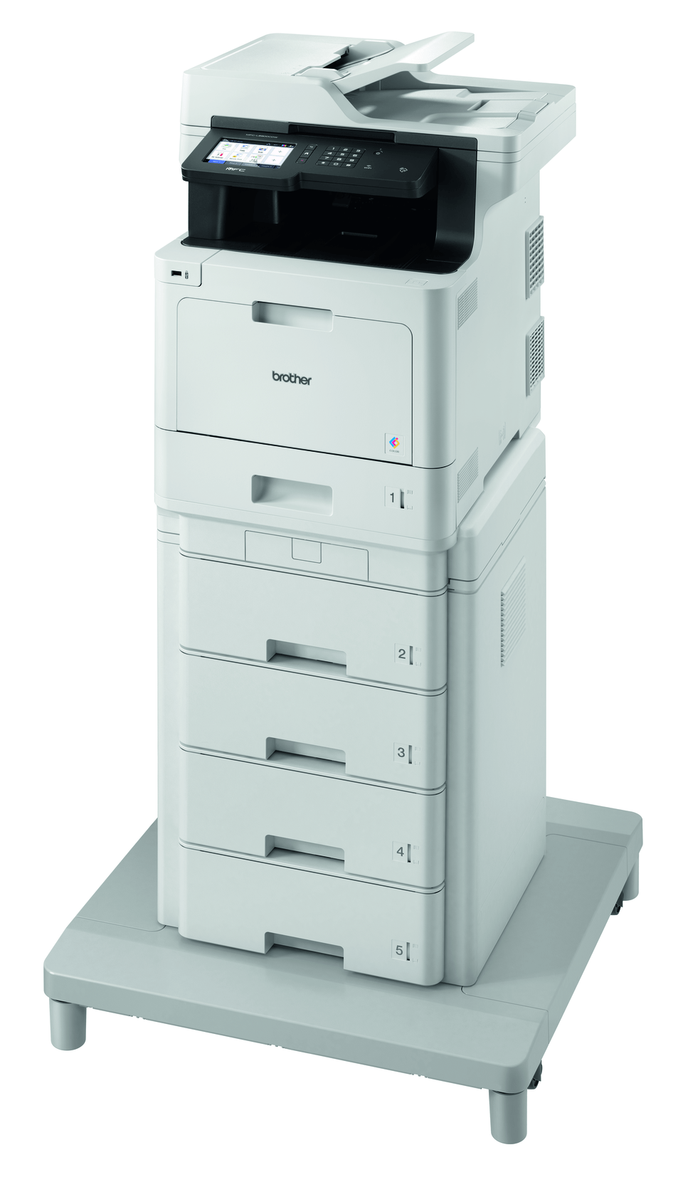 Brother MFC-L8900CDWMT Professional Colour, Duplex, Wireless Laser All-in-one Printer + Tower Tray + Tower Tray Connector 2