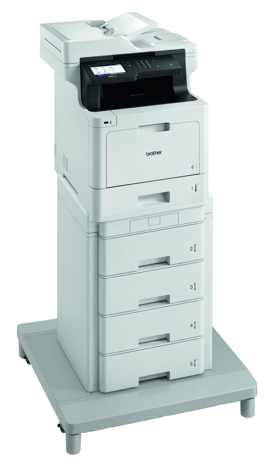 MFC-L8900CDWMT - Professional Colour Laser All-in-one Printer + Tower Tray + Tower Tray Connector 3
