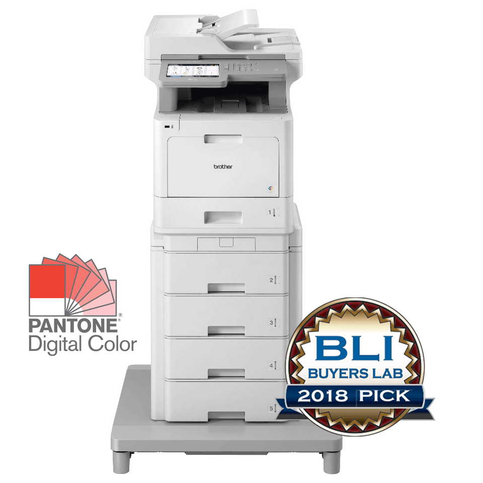 MFC-L9570CDWMT Professional Colour, Duplex, Wireless Laser All-in-one Printer + Tower Tray + Tower Tray Connector