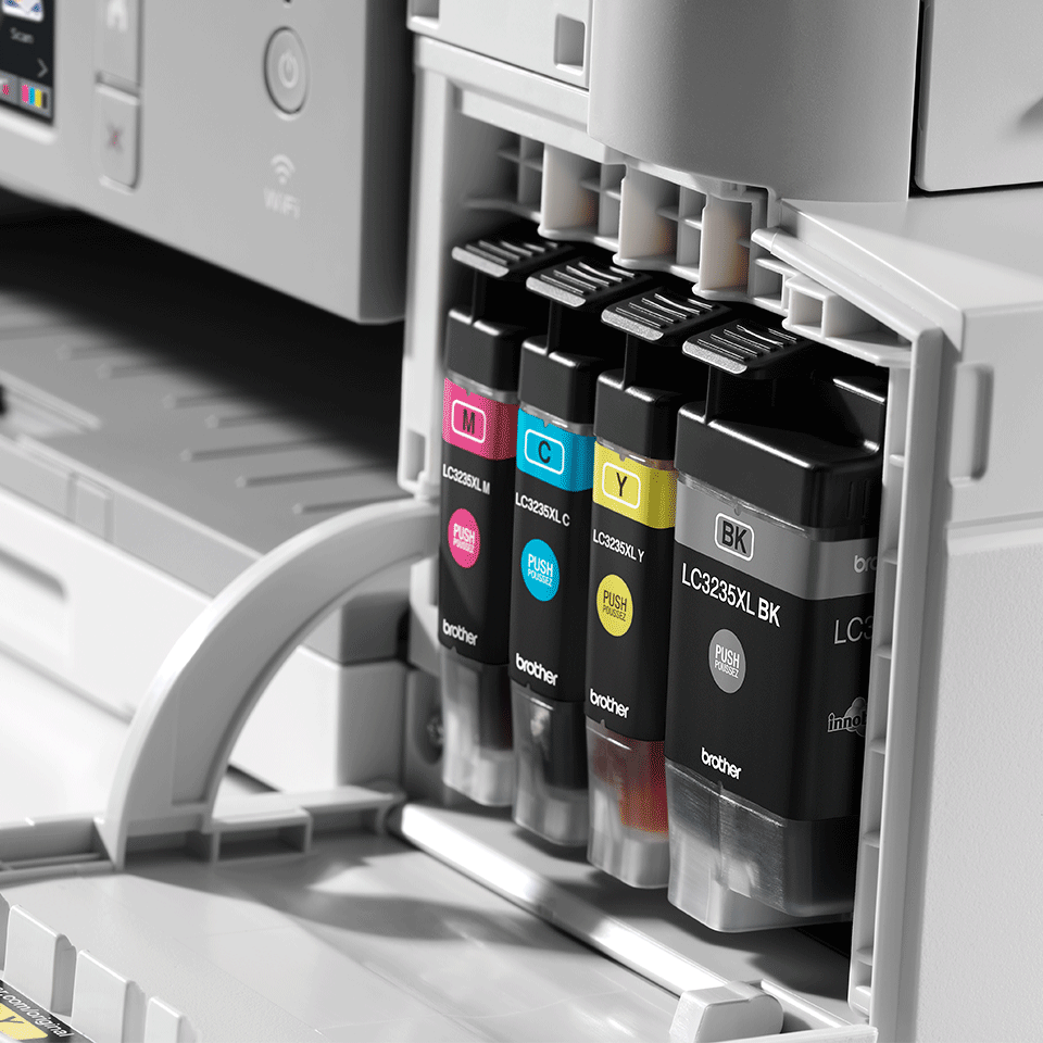 Wireless 4-in-1 Colour Inkjet Printer MFC-J1300DW All In Box Bundle 5