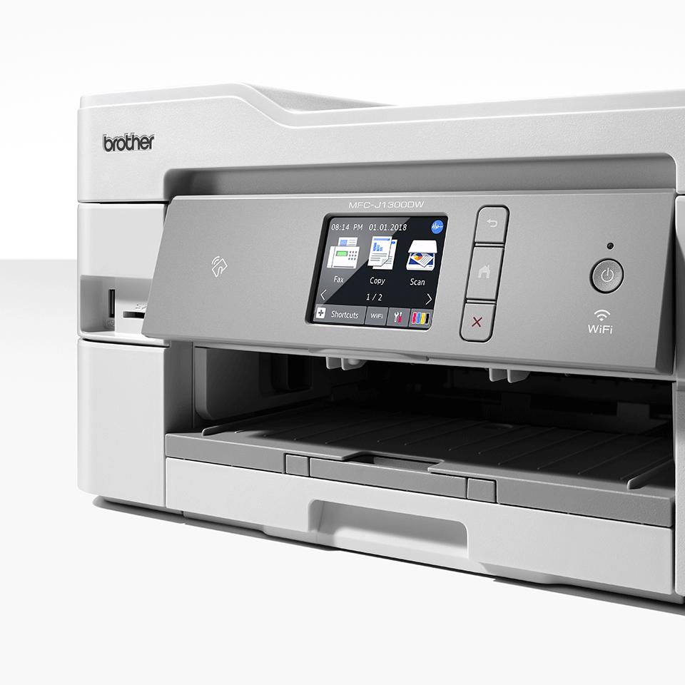 Wireless 4-in-1 Colour Inkjet Printer MFC-J1300DW All In Box Bundle 6