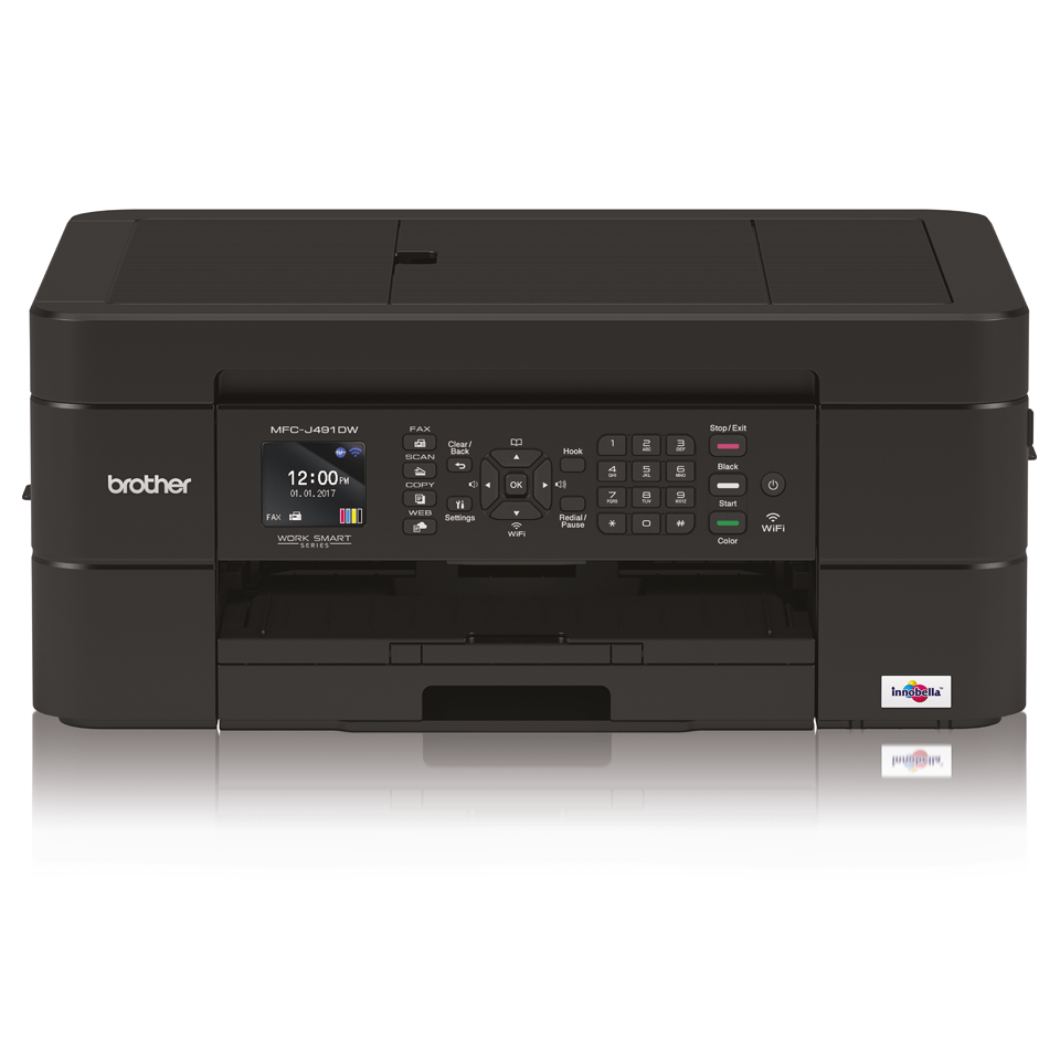 Wireless 4-in-1 Colour Inkjet Printer MFC-J491DW 7