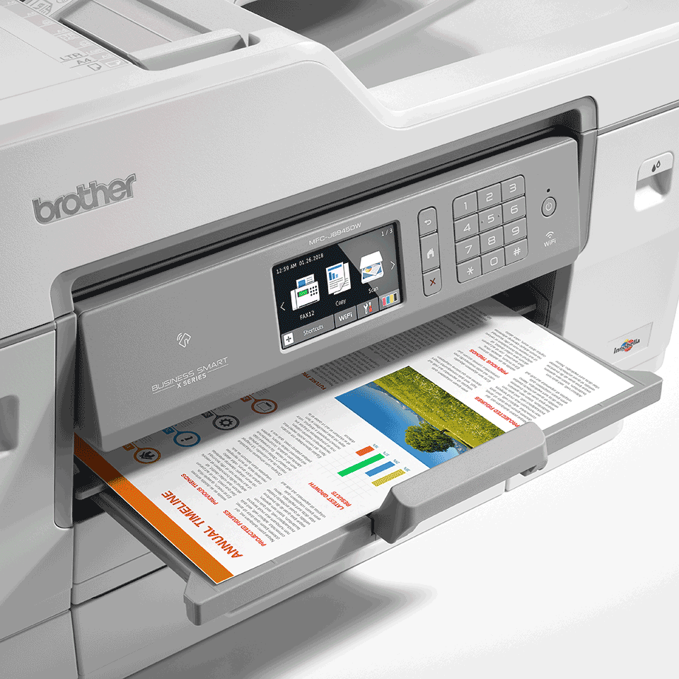 MFC-J6945DW Colour Wireless A3 Inkjet 4-in-1 Printer 6