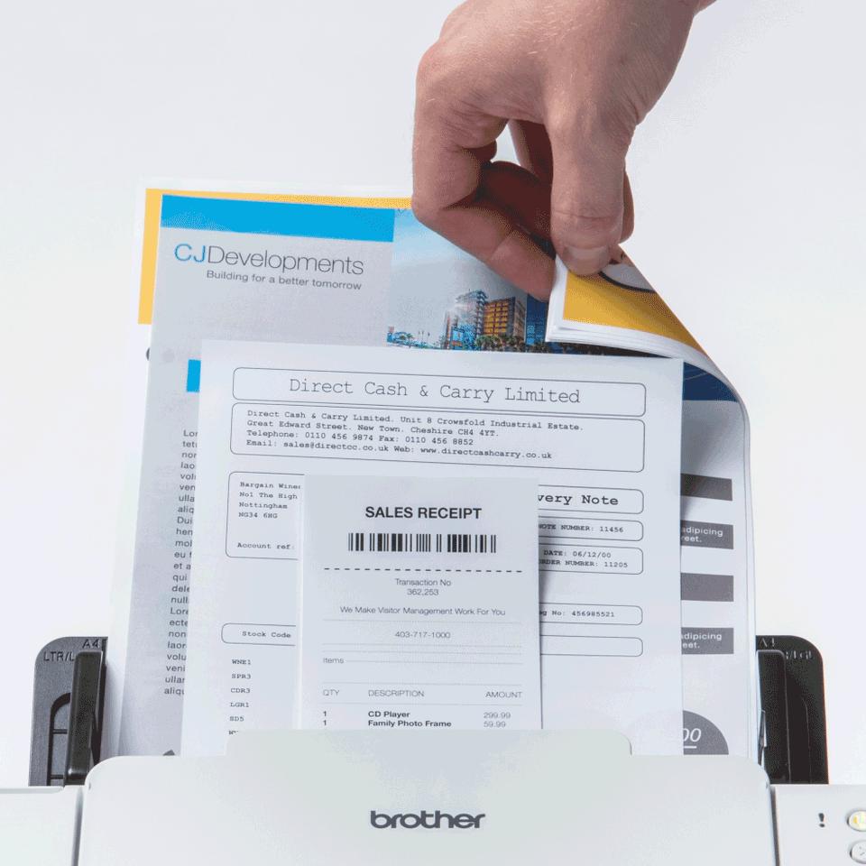 Brother   ADS-2200 desktop document scanner 7