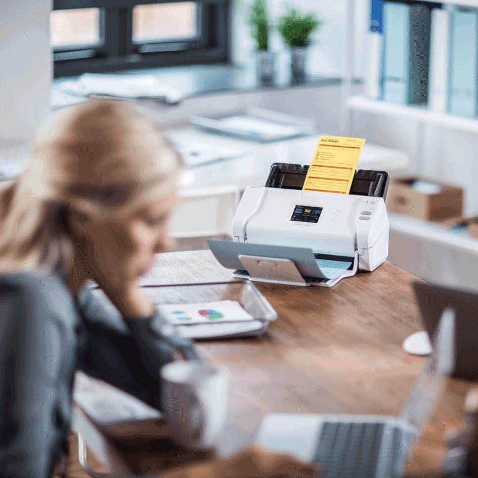 Brother ADS-2700W wireless, networked desktop document scanner 9