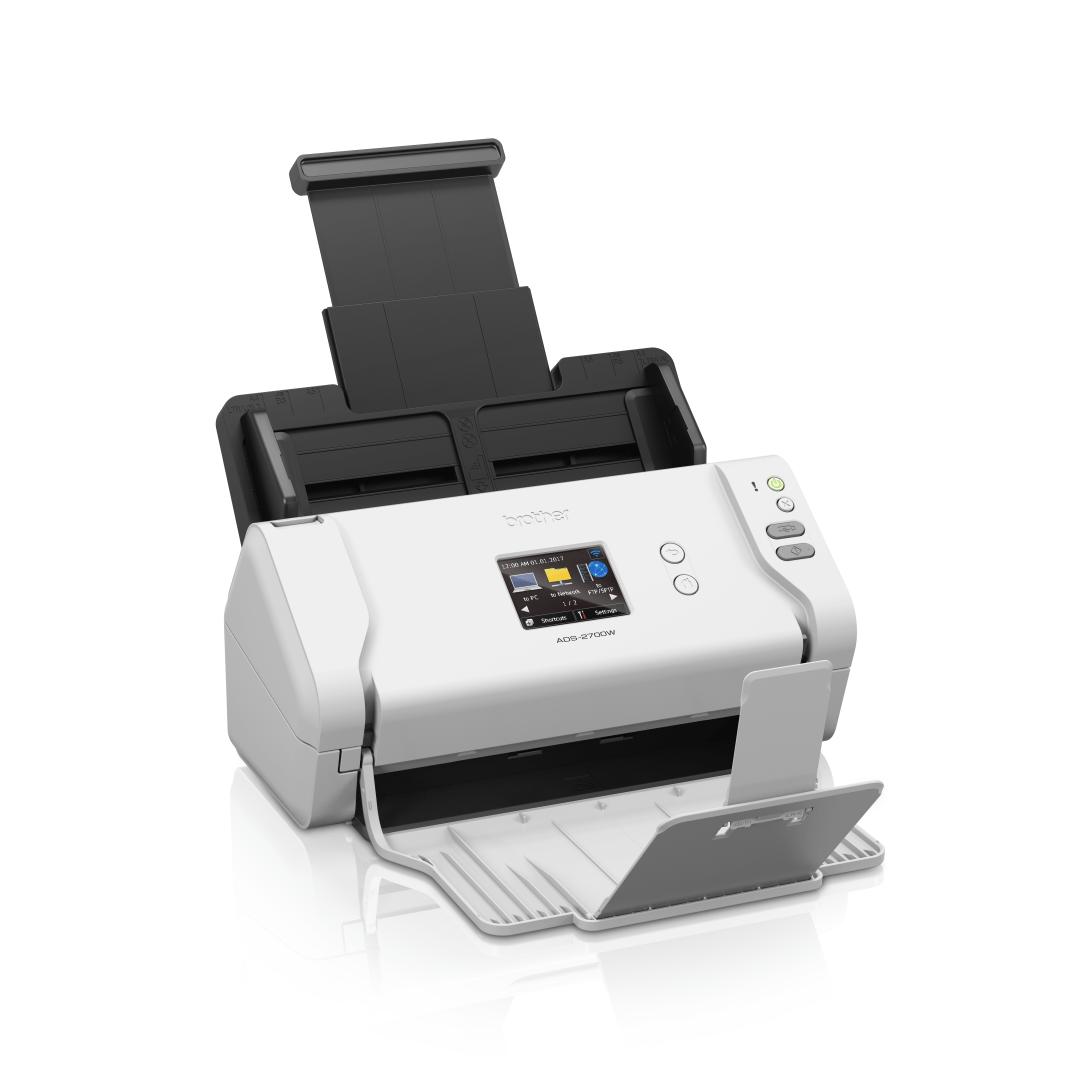 Brother ADS-2700W wireless, networked desktop document scanner 3
