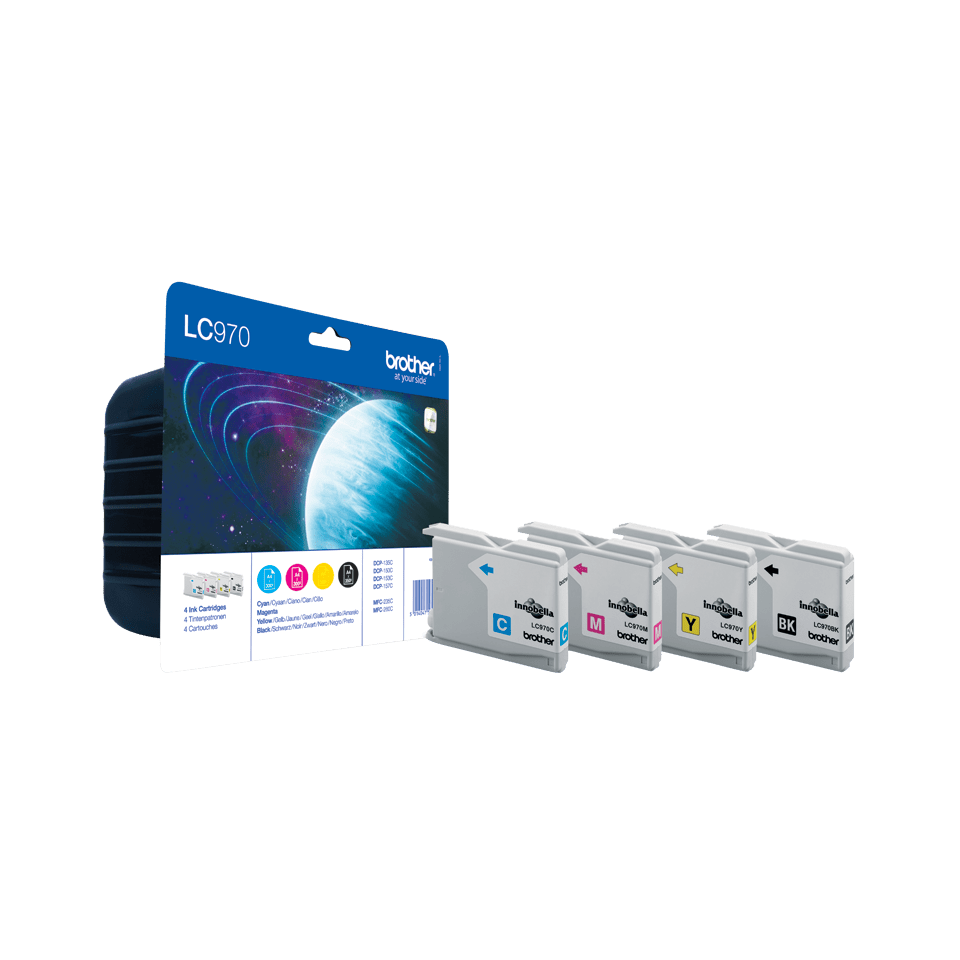 Genuine Brother LC970VALBP Ink Cartridge Multipack