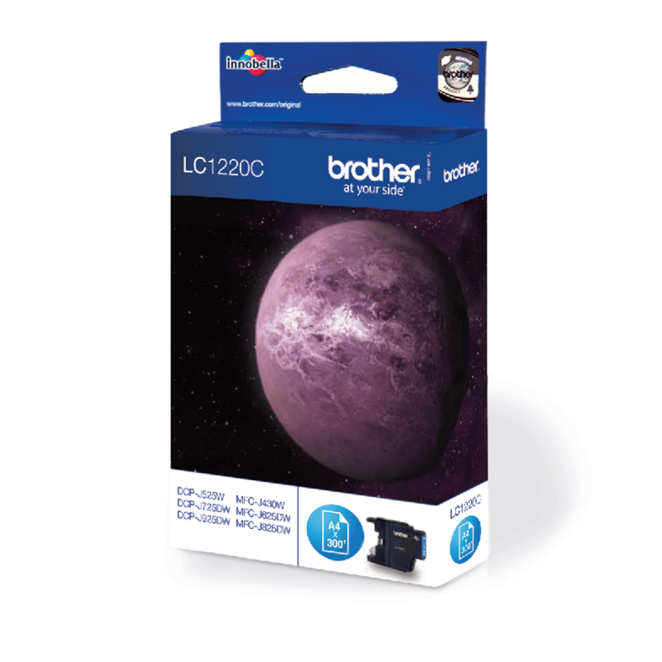 Genuine Brother LC1220C Ink Cartridge – Cyan 2