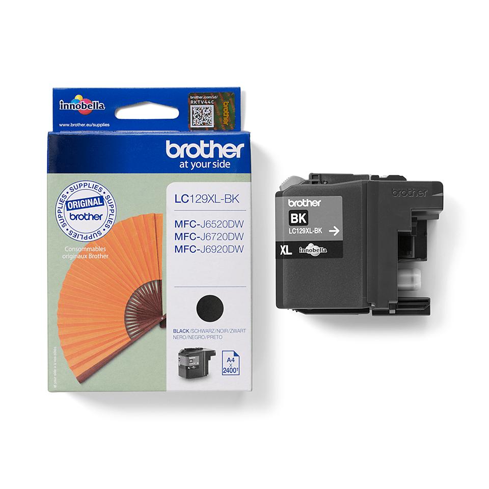 Genuine Brother LC129XLBK High Yield Ink Cartridge – Black 2