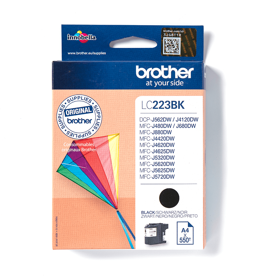 Genuine Brother LC223BK Ink Cartridge – Black  2