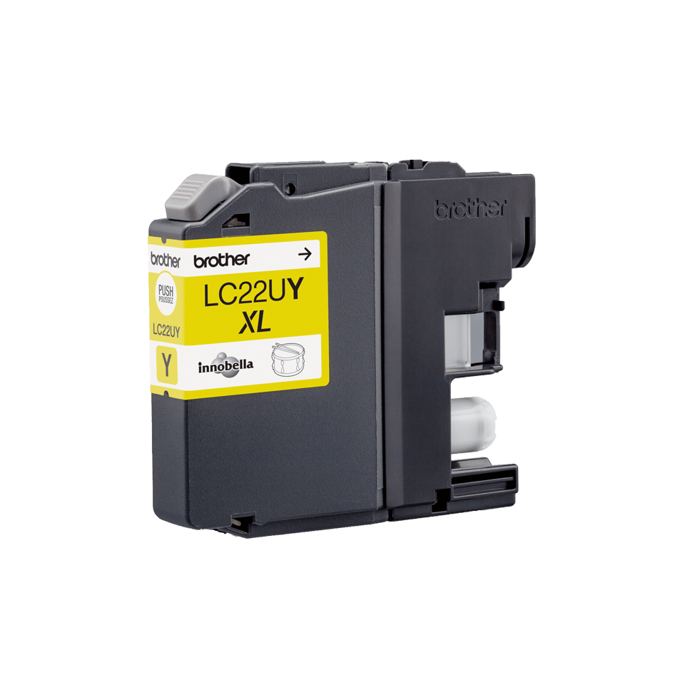 Genuine Brother LC22UY Super High Yield Ink Cartridge – Yellow 3