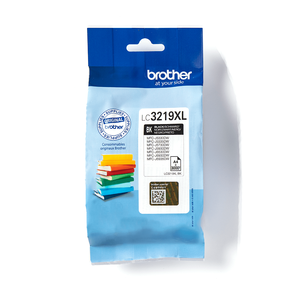 Genuine Brother LC3219XLBK High Yield Ink Cartridge – Black
