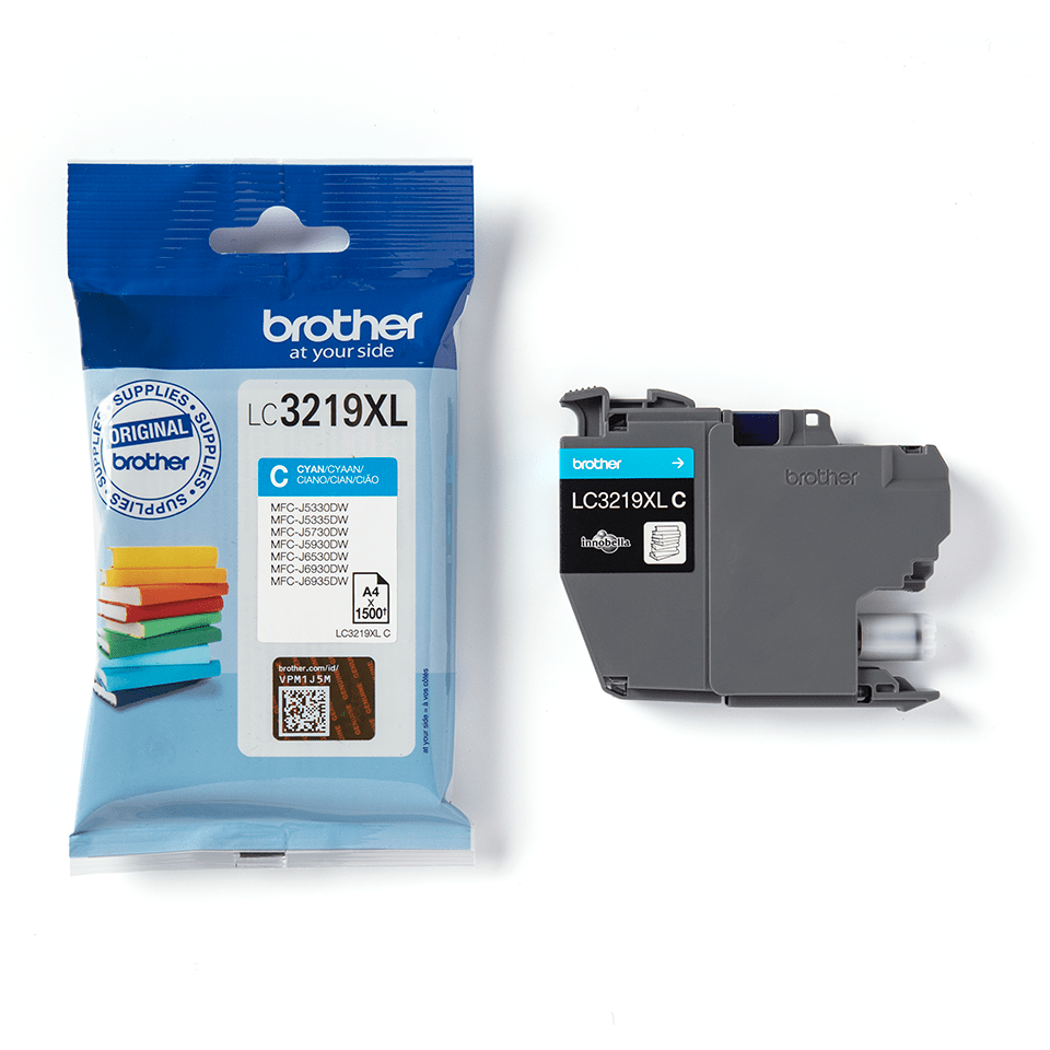 Genuine Brother LC3219XLC Ink Cartridge in Cyan 3