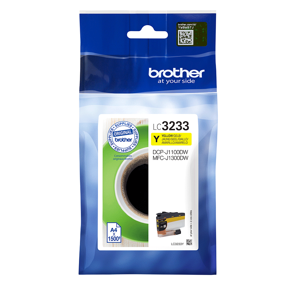 Genuine Brother LC3233Y Ink Cartridge - Yellow